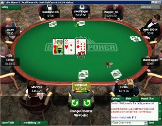 un tournoi de poker multi tables en ligne