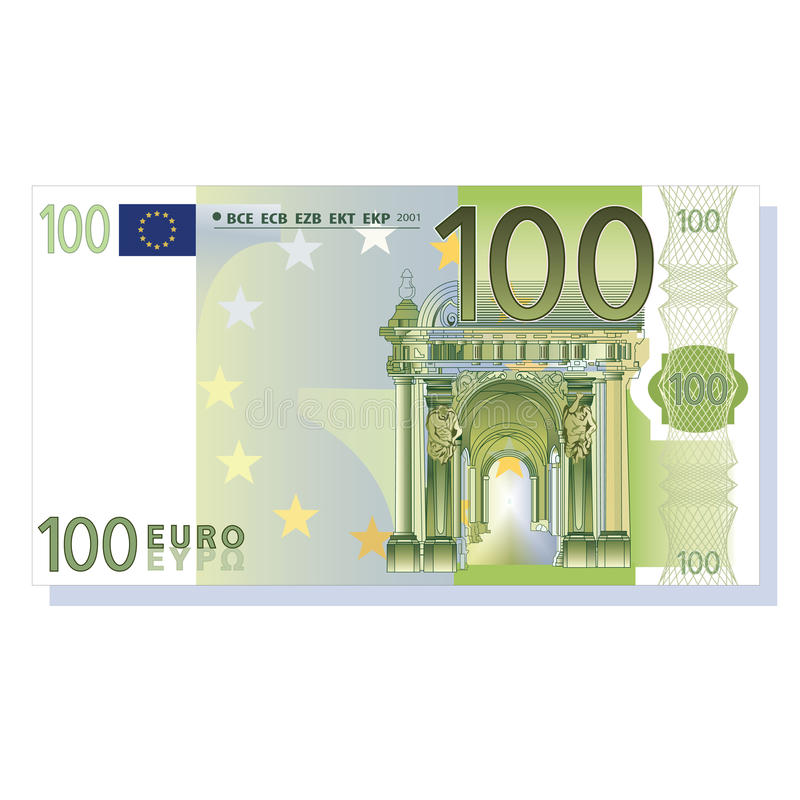 Billet 100 euros